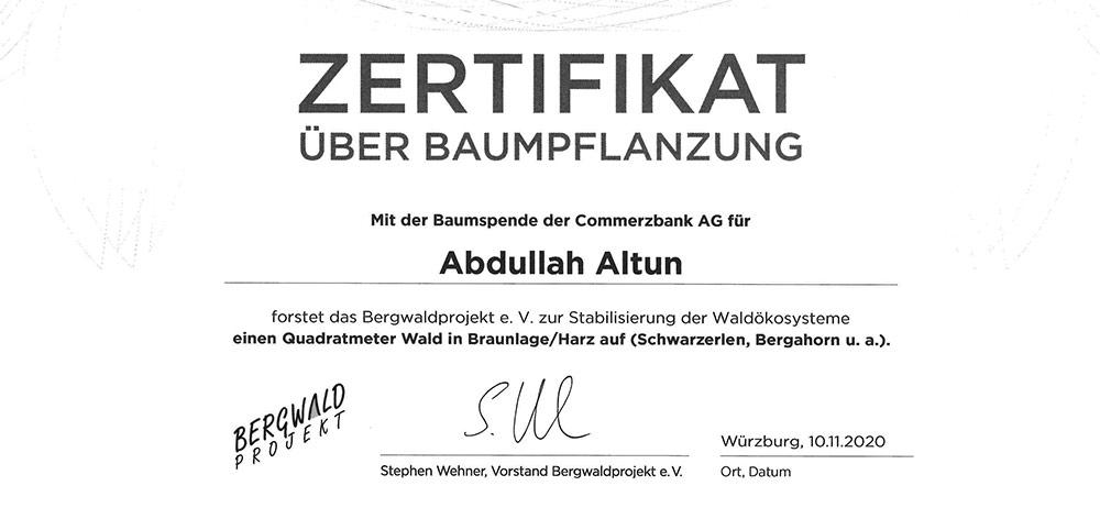 zertifikat_baumpflanzung